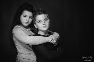 Séance photo Studio Tarn Frère et soeur
