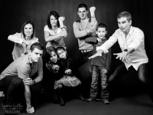 Séance photo famille Studio Tarn